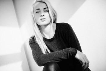 Portræt af Simone Borg Jørgensen