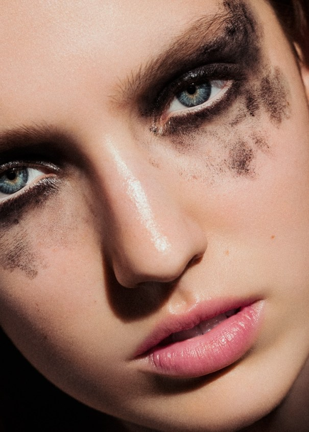 Beauty shoot - Laura Holmelund fra Le Management