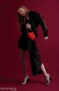 Fashion editorial, Red is the Colour of Red, rod clemen