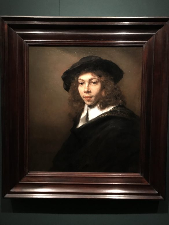 A painting by Rembrandt van Rijn