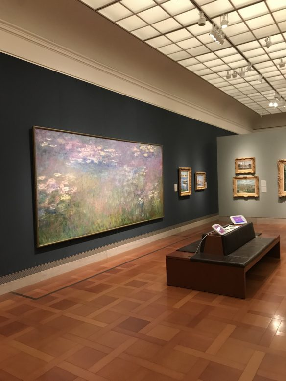 A beautiful impressionist painting by Monet