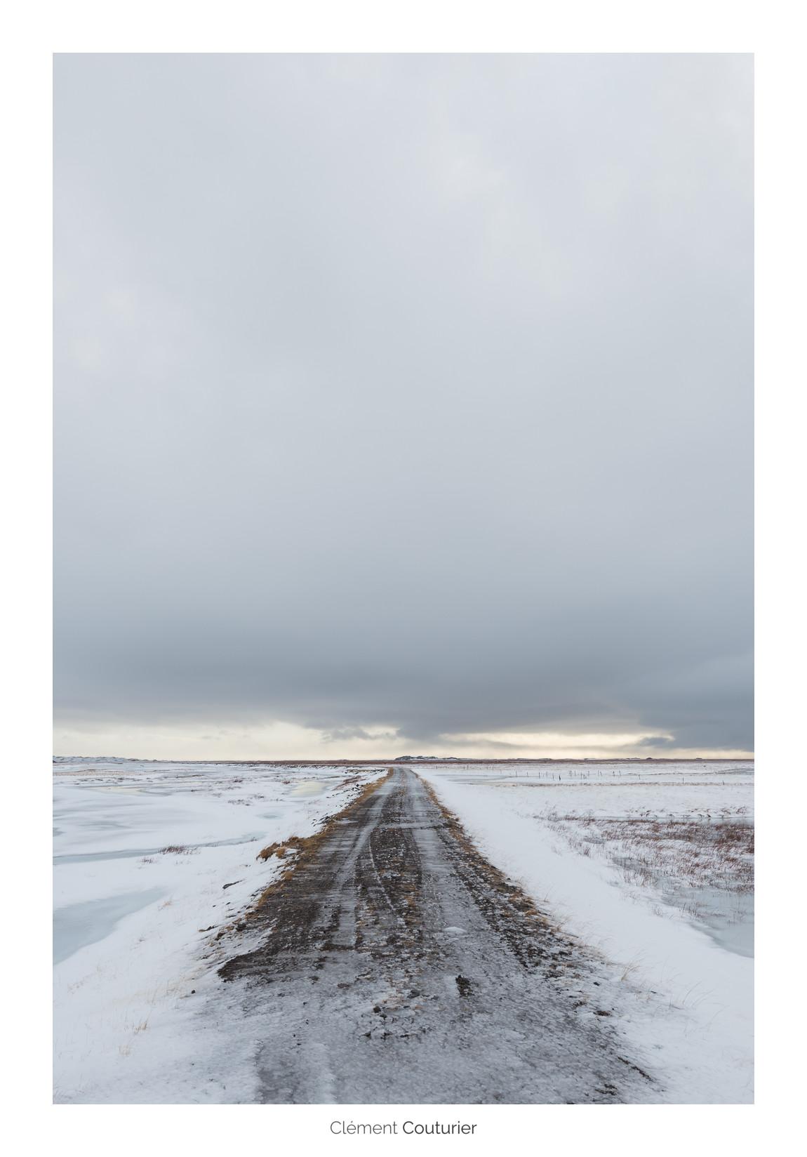 chemin islandais - Clément Couturier