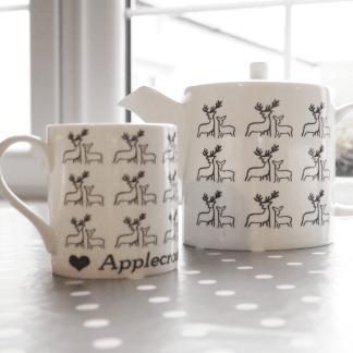Deer Teapot Mugs Teaset by Clement Design
