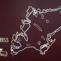 Applecross Map illustration