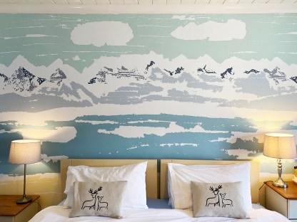 Applecross Bay Mural at Applecross Inn by Clement Design