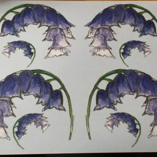 Scottish Bluebells Placemat by Clement Design