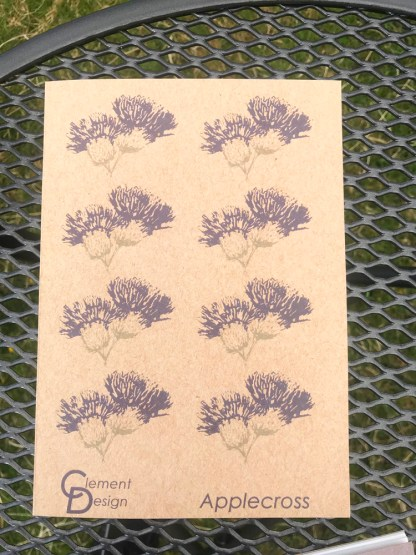 Thistle Eco Jotter by Clement Design