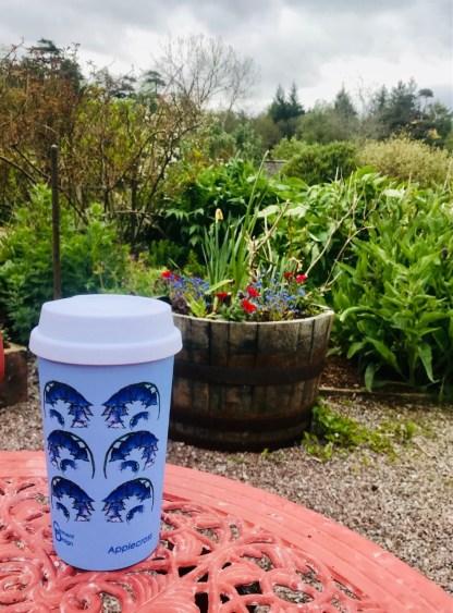 Scottish Bluebells Travel Mug by Clement Design