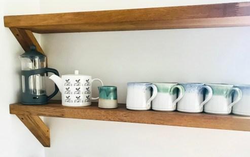 Cliff Kitchen Detail: Mugs