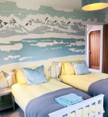 Cliff AX Mural Bedroom