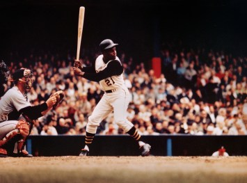 This image was the one to kick off a lot of what we are doing at the museum today. Originally acquired from Ketchum Communications in Pittsburgh, PA as loose negative left over from the 1970 Clemente Day campaign.