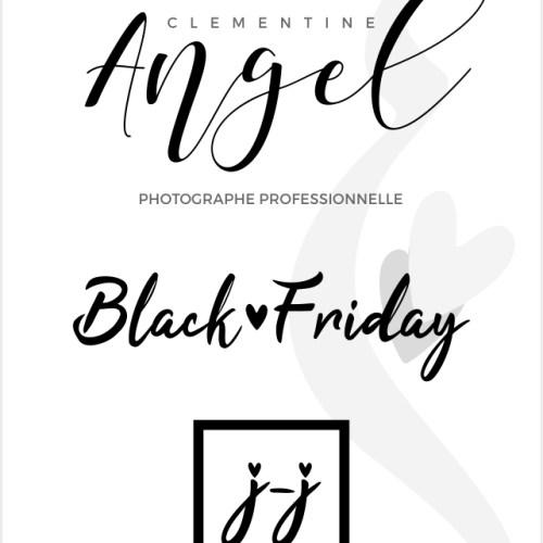 BLACK FRIDAY chez votre PHOTOGRAPHE Jour J