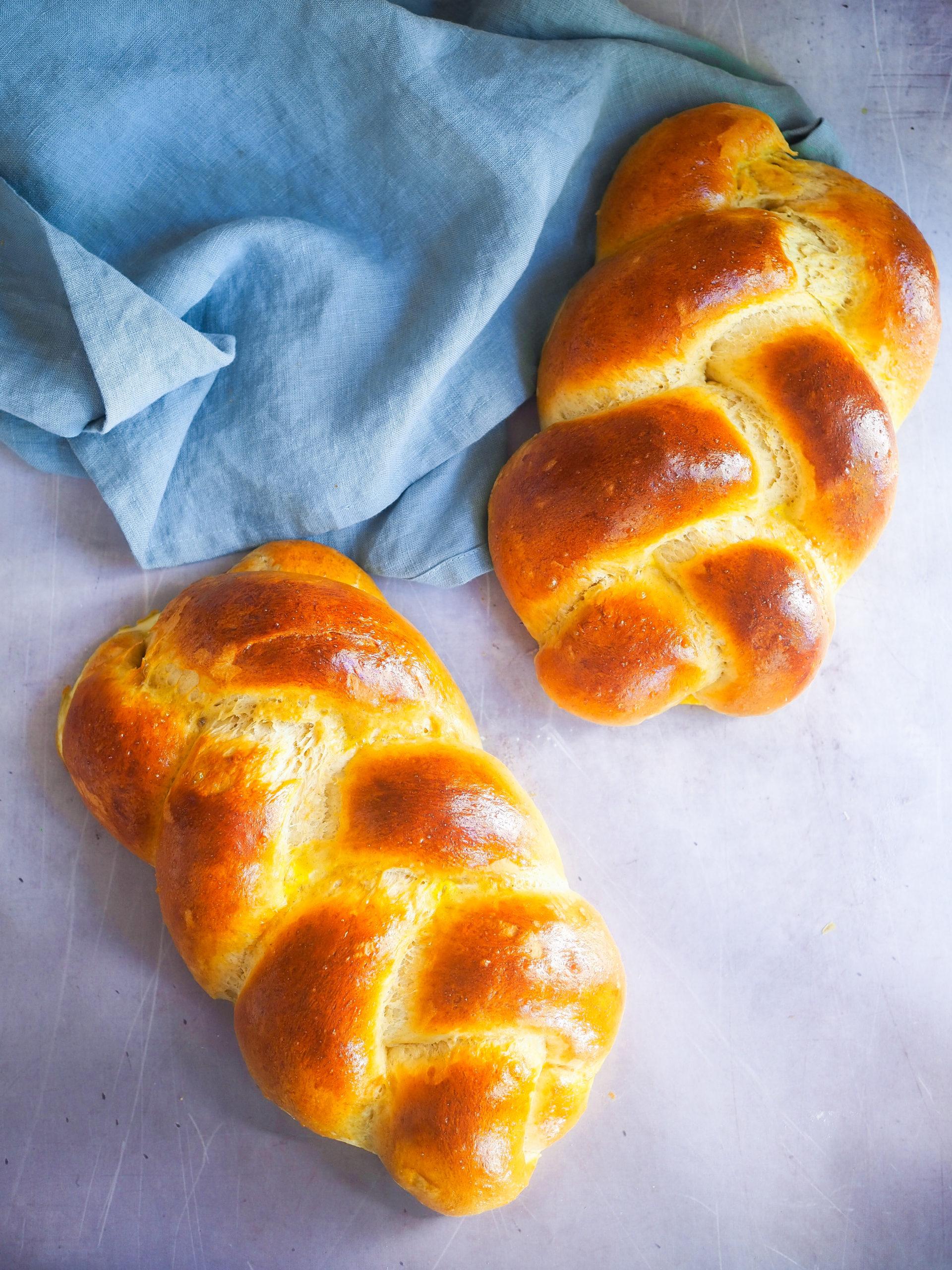 Brioche Sans Levure De Boulanger : brioche, levure, boulanger, Brioche, Tressée, Facile, Clemfoodie