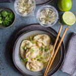 Ravioles de langoustines façon thaï