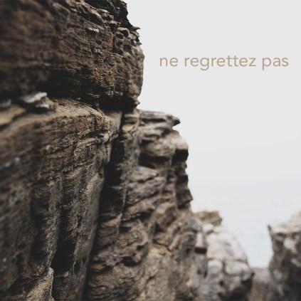Visuel de la chanson Ne Regrettez Pas