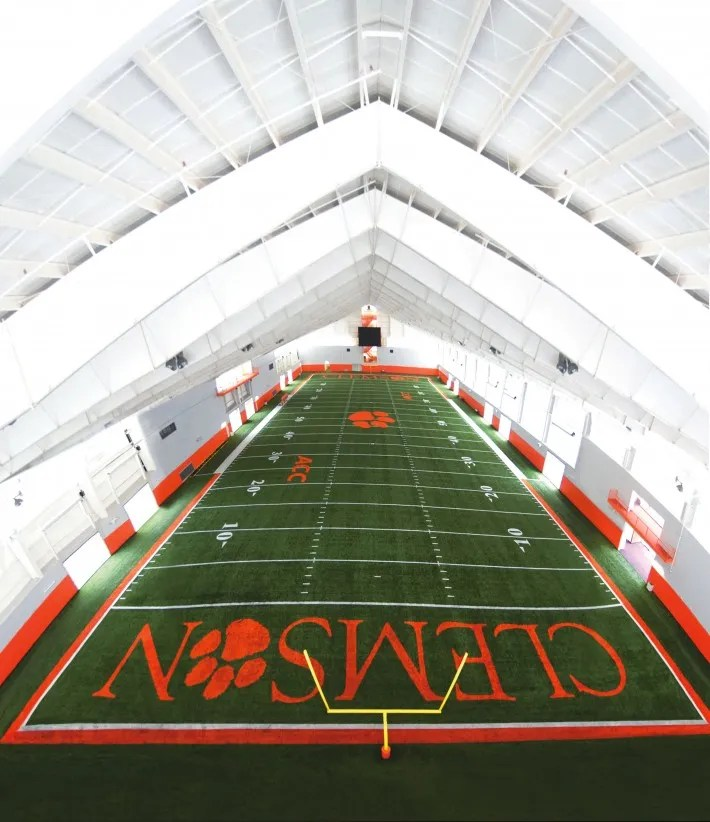 Clemson Football indoor practice facility