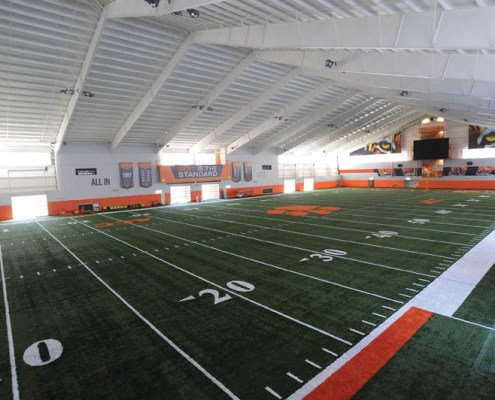 Indoor Football Practice Facility