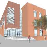 Freeman Hall rendering