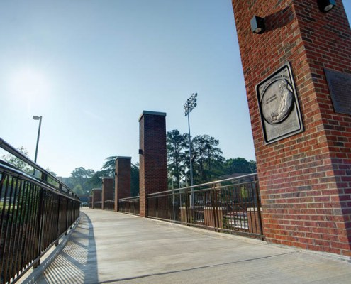 Walk down Hwy 93 past historic Riggs Field