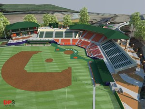 Kingsmore Stadium Rendering