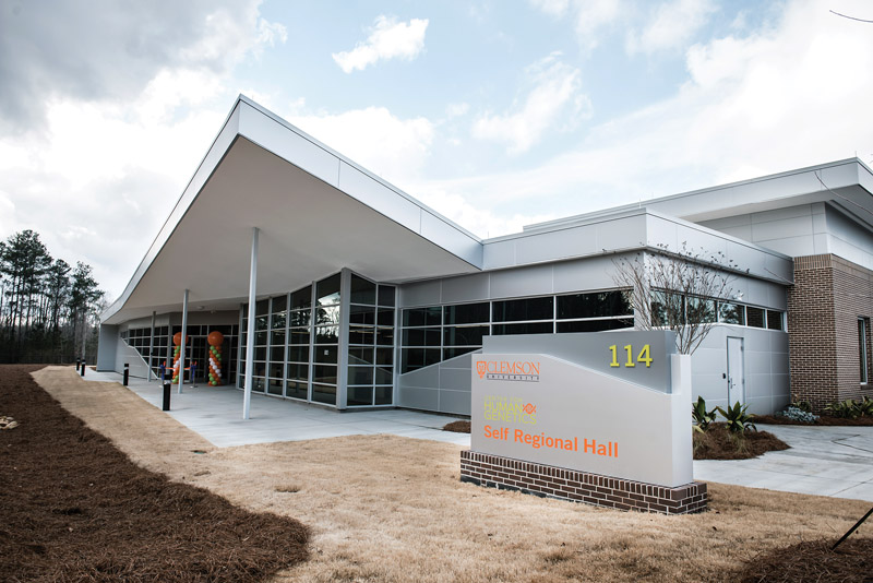 Clemson World Magazine Clemson Center For Human Genetics Opens In