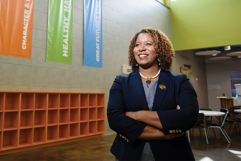 A Passion for Service: Kim Gray Evans '98