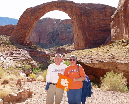 Utah: Andy '80 and Margaret '80 Henderson