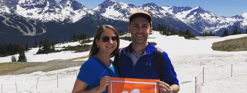 British Columbia: Ben '06 and Victoria Christiano '06 Sprague