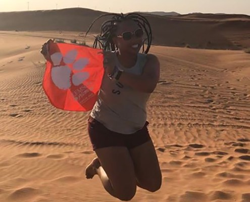 Dubai: Shannon Johnson '10