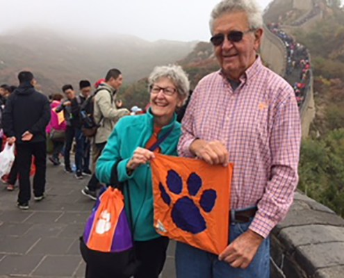 China: Tommy Sanders '61