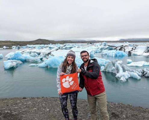 Iceland: Patrick '14 and Taylor '13 Coutu