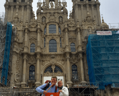 "Spain: Osman A. ""Bud"" Hicklin III '85 and Leslie Williams Hicklin '85"