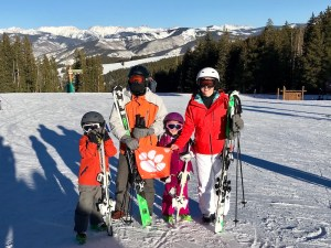 Colorado: Lisa Walker '03 and her husband, Todd, and children, Avery and Warren, took a family trip to Beaver Creek for some skiing.