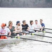 Rowing on Lake Hartwell