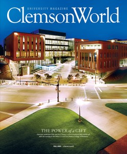 Clemson World Fall 2020 cover