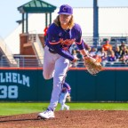Ty Olenchuk to Start Clemson's Midweek Matchup Against College of Charleston