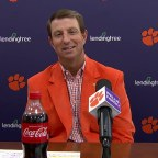 Dabo Swinney on Barrett Carter: 'We Never Said He's a Linebacker'