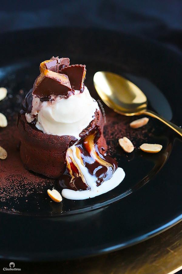 Decadent Molten Lava Cakes 4 Surprise Fillings Cleobuttera