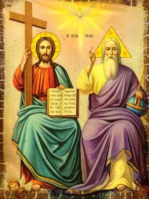 Resultado de imagem para imagem da Santíssima Trindade no Vaticano