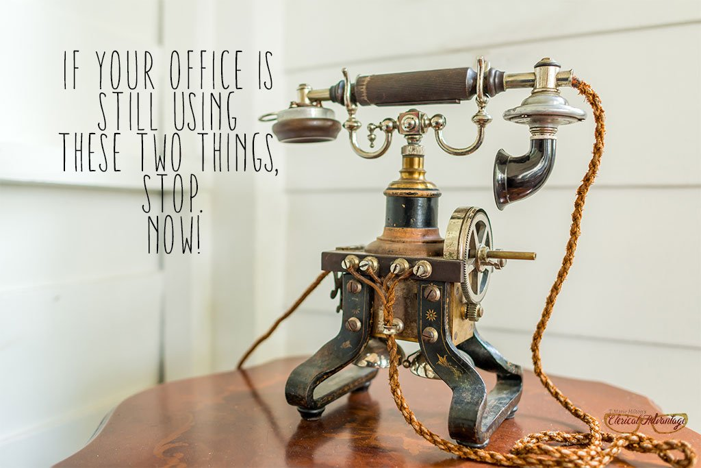 If Your Office is Still Using These Two Things, Stop. Now.