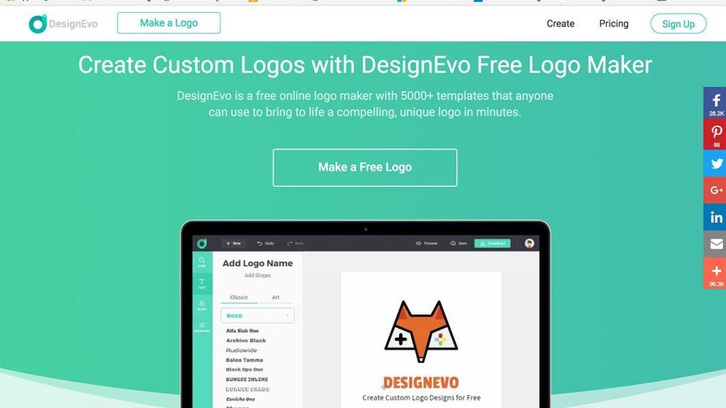 DesignEvo Business Logo Creator
