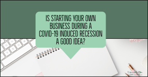 start a home business in a recession