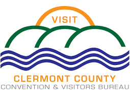 logo for clermont county convention and visitors bureau