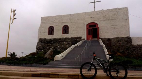 La primer capilla de por allá
