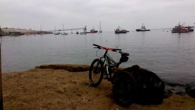 na vista matutina de la bahía calderina