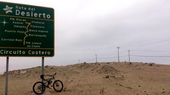 En la ruta del desierto