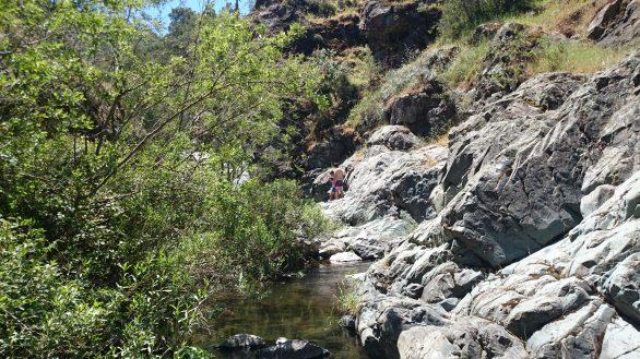 Otra imagen de agua fria en las piedras overas