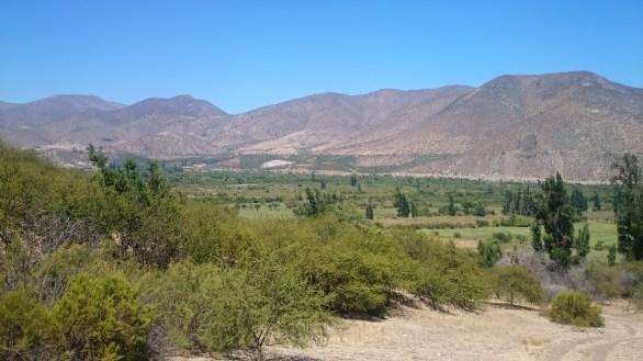 Sobre el valle del choapa