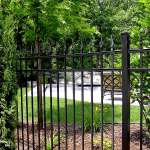 Residential Metal Fence in Boston MA