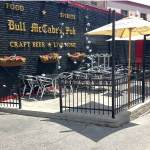 Ornamental Metal Fence - Bull McCabs Pub in Sommerville MA